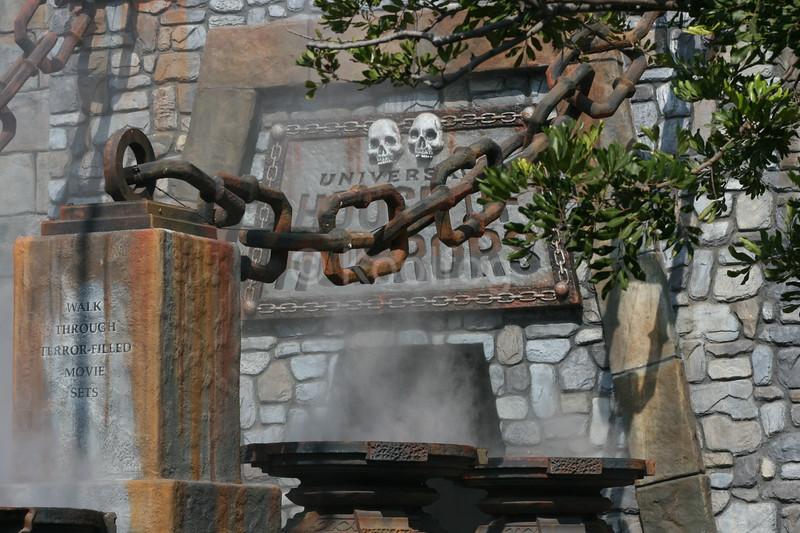 Fog Sets Stage for Terror Filled Movie Sets