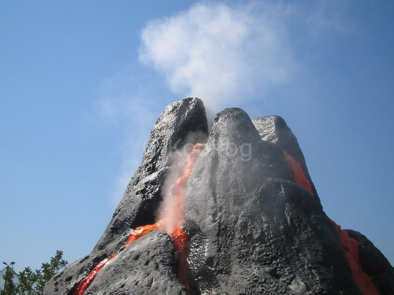 Volcano Fog