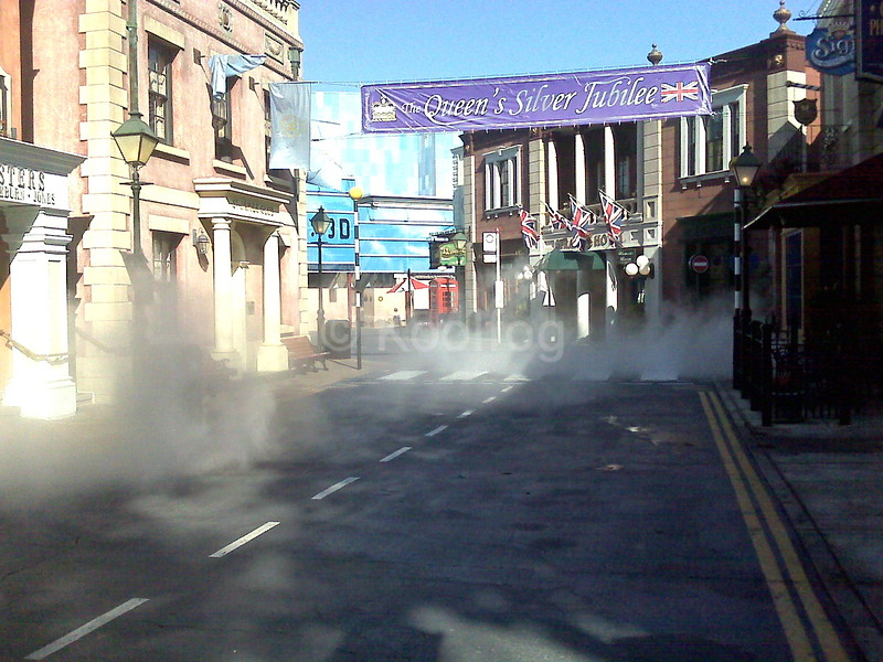 London Street Fog