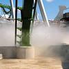 Hulk Roller Coaster Under Construction