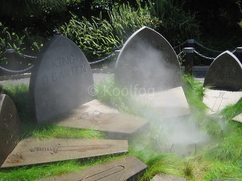 Headstone at Legoland