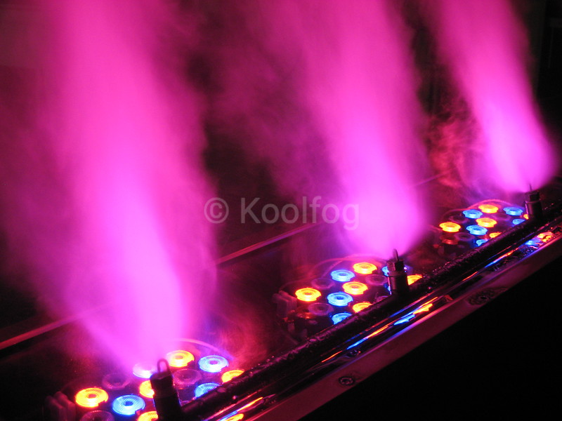 Fuscia LED and Fog