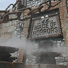 Cauldrons at Entrance to House of Horrors