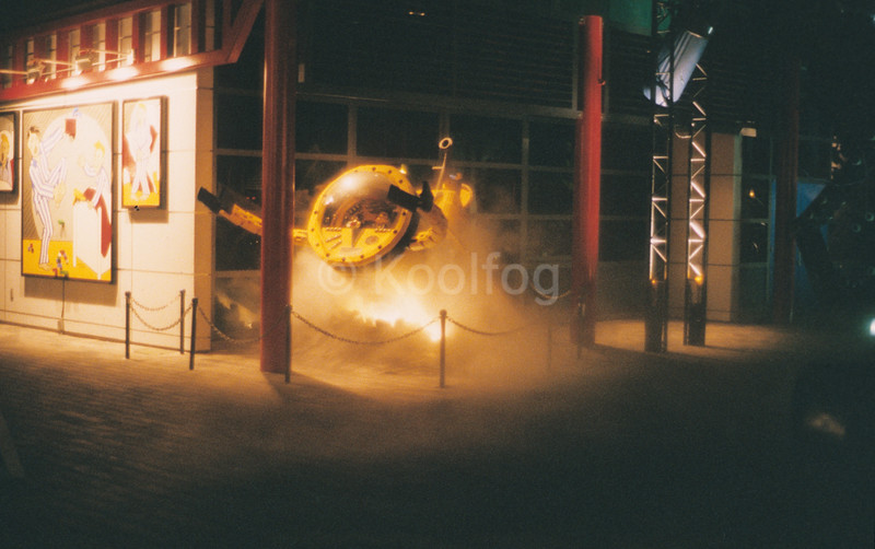 Spaceman in Fog at Legoland
