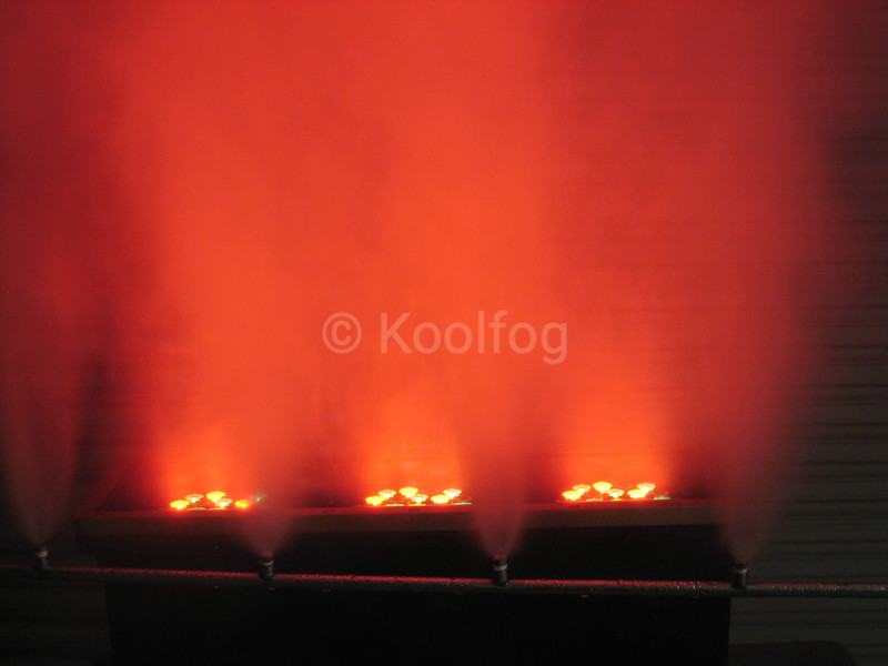 Red LED and Fog Spread Out