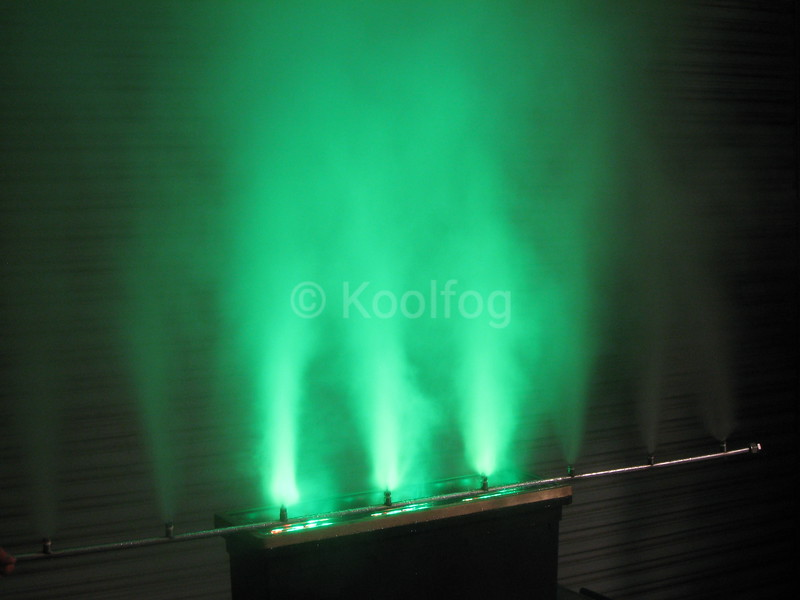 Green Fog Wall