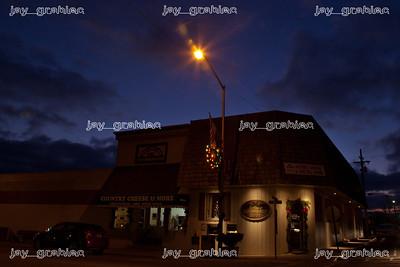 The street lighting in Arthur, Illinois. Updates by Tick Tock Energy. (Jay Grabiec)