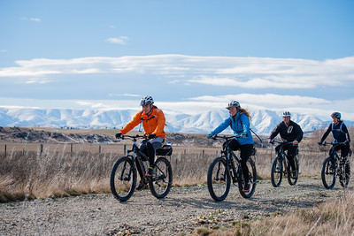 Winter on the Otago Central Rail Trail.  Image Credit: Clare Toia-Bailey / image central