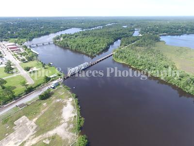 Milton, Florida-Bridge-Aerial