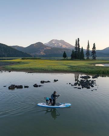 Sparks Lake Paddle #1