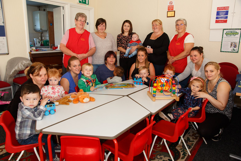 WHG Refurbishment of Catshill Road Community Centre, Brownhills for Mother and Toddlers Group