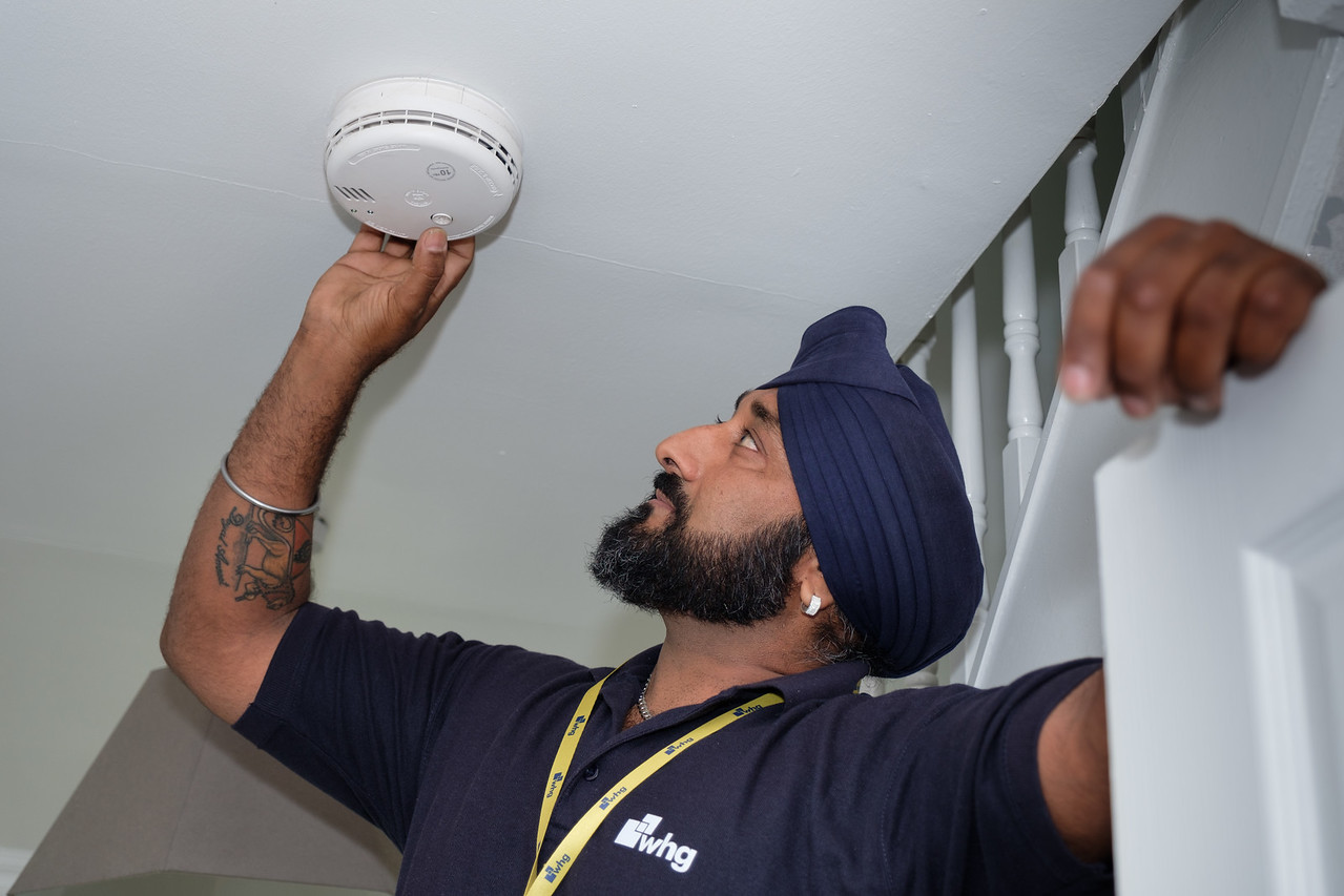 WHG Smoke Detector Testing