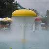 Fog Umbrella in Water Park