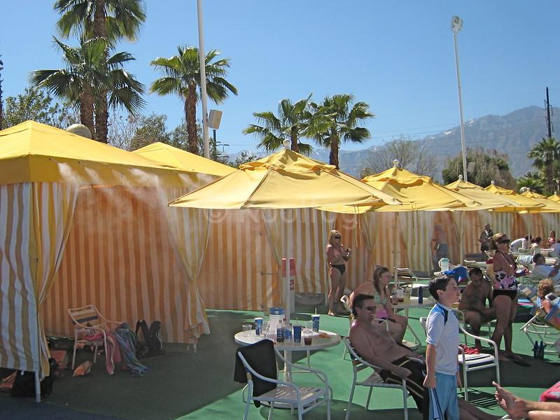 VIP Guests Enjoy Cool Environment