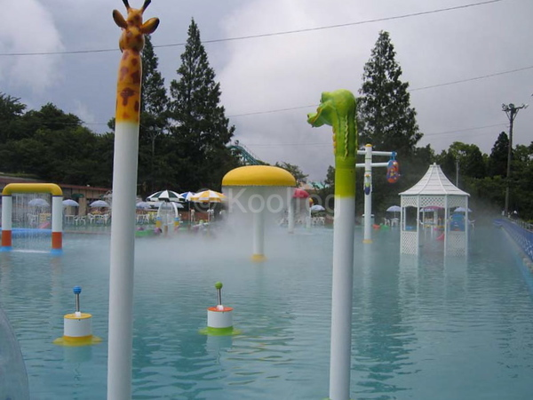 Fog Feature in Water Play Area