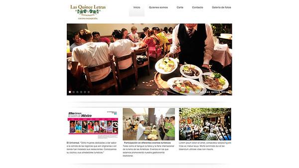 Restaurante Las Quince Letras - Oaxaca, Mexico