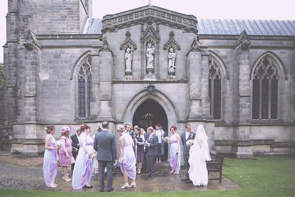 The wedding of Lauren and Stephen
