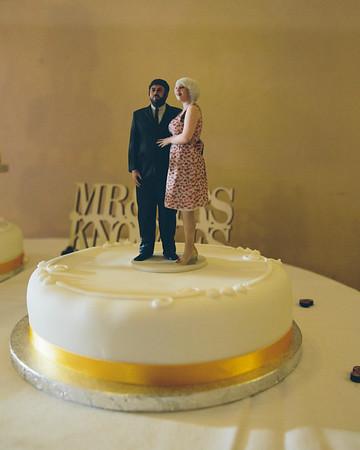The wedding of Sarah & David.