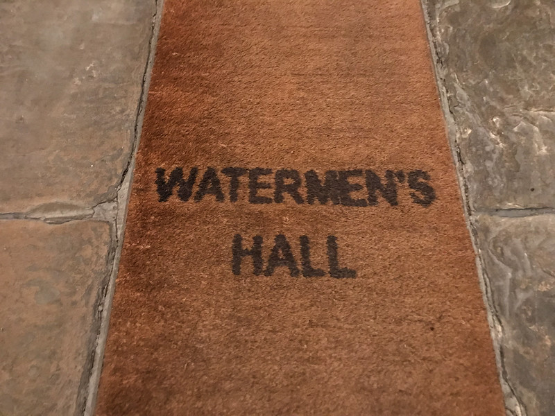 Livery Dinner at Watermen's Hall