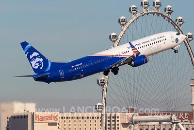 Alaska 737-900ER - N265AK - LAS