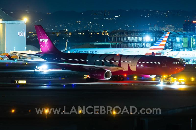 WOW Air A330-300 - TF-GAY - LAX