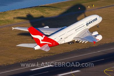 Qantas A380-800 - VH-OQH - SYD