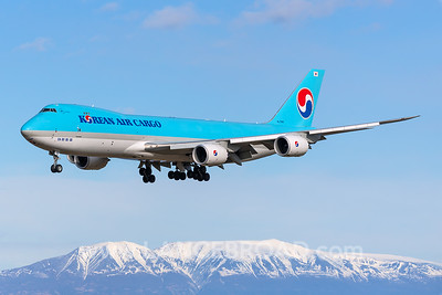 Korean Air 747-8F - HL7610 - ANC