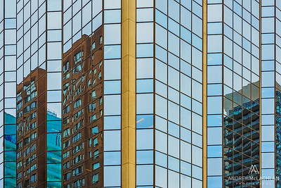 Mirrored Building, Toronto, Ontario, Canada