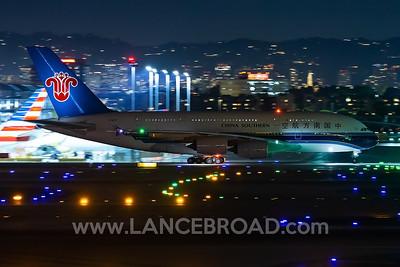 China Southern A380-800 - B-6137 - LAX