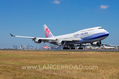 China Airlines 747-400 - B-18905 - BNE