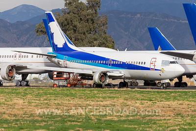 ANA Wings 737-500 - JA8404 - SBD