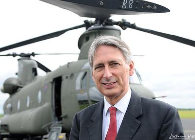 Philip Hammond at RAF Odiham