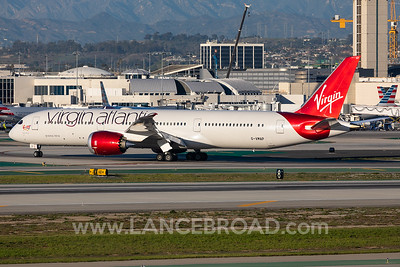 Virgin Atlantic 787-9 - G-VMAP - LAX