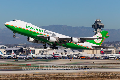 Eva Air Cargo 747-400 - B-16483 - LAX