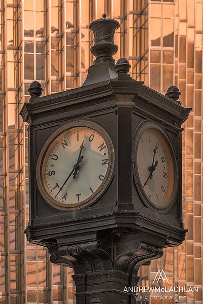 Union Station Clock, Toronto, Ontario, Canada