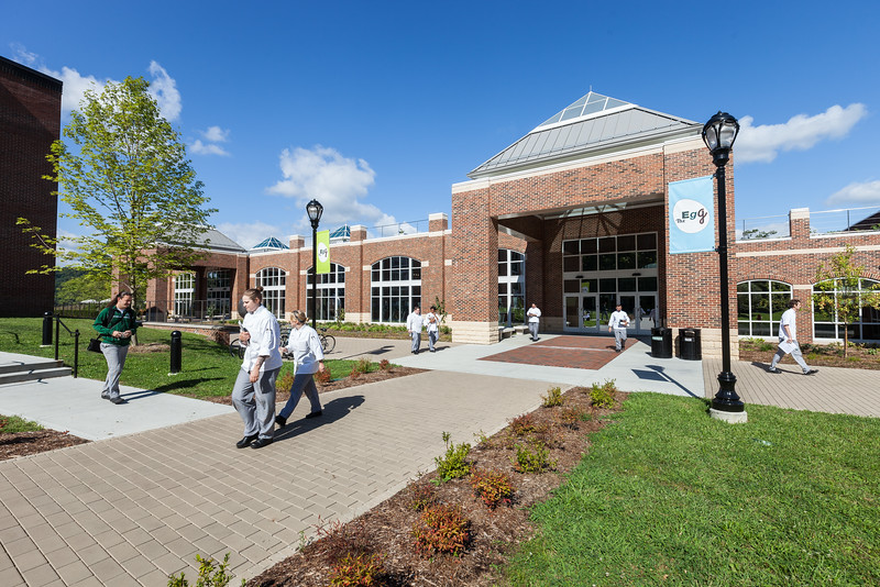The Student Commons main entrance.