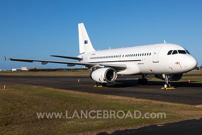 Skytraders A319-100 - VH-VCJ - BNE