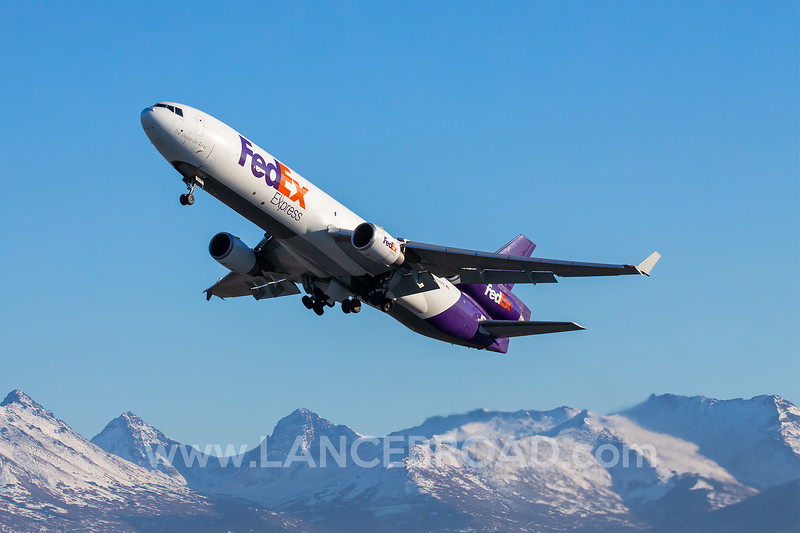 Fedex MD-11F - N625FE - ANC