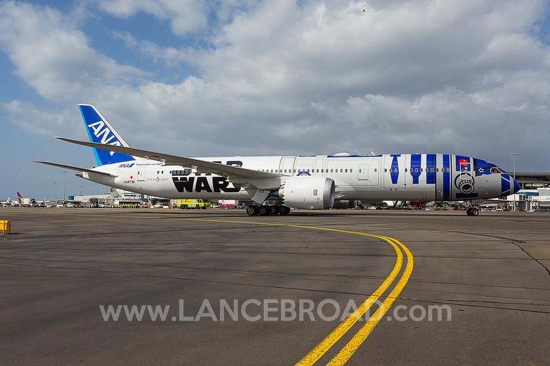 All Nippon Airways 787-9 - JA873A - SYD