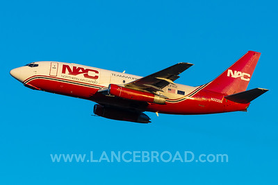 Northern Air Cargo 737-200 - N322DL - ANC