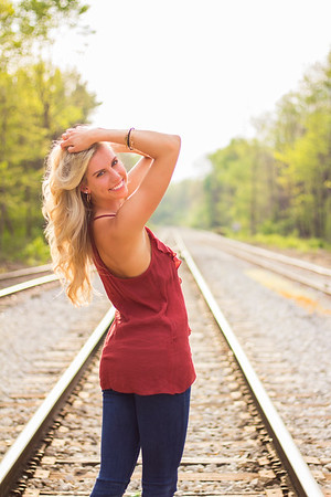 Railroad Tracks - Bloomington, IN