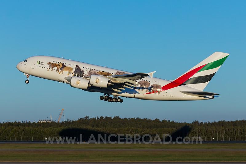 Emirates A380-800 - A6-EEQ - BNE