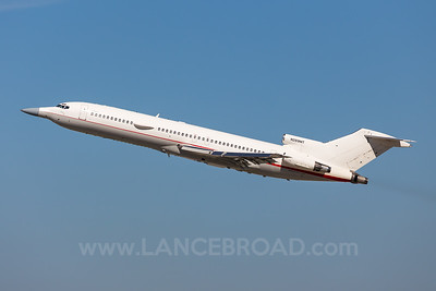 Raytheon Flight Test Operations 727-200 N289MT - LAX