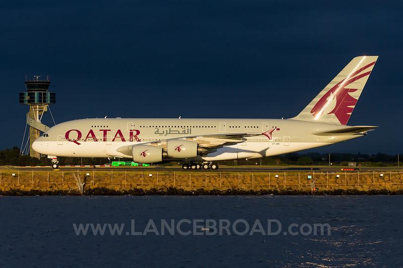 Qatar A380-800 - A7APE - SYD