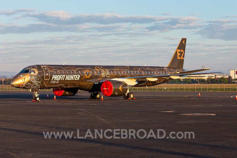Embraer E195-E2 - PR-ZIQ - BNE