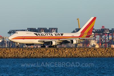 Kalitta Air 747-200 - N795CK - SYD