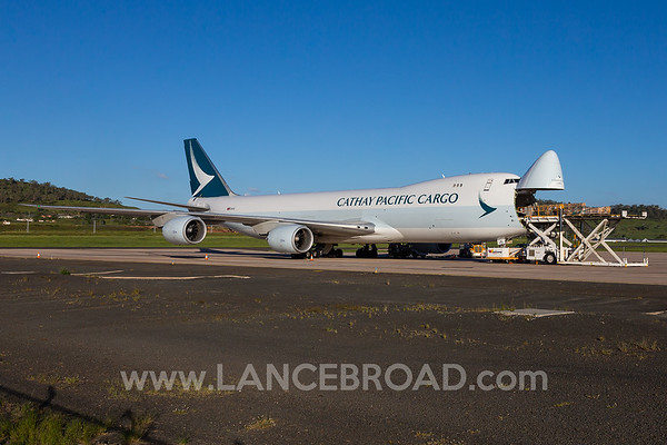 Cathay Pacific Cargo 747-8F - B-LJL - WTB