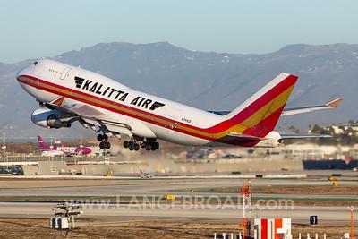 Kalitta 747-400F - N744CK - LAX