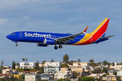 Southwest 737-8 MAX - N8706W - SAN