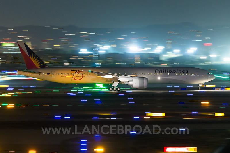 Philippines 777-300ER - RP-C7773 - LAX